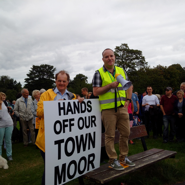 Moor protest 21 Aug 16