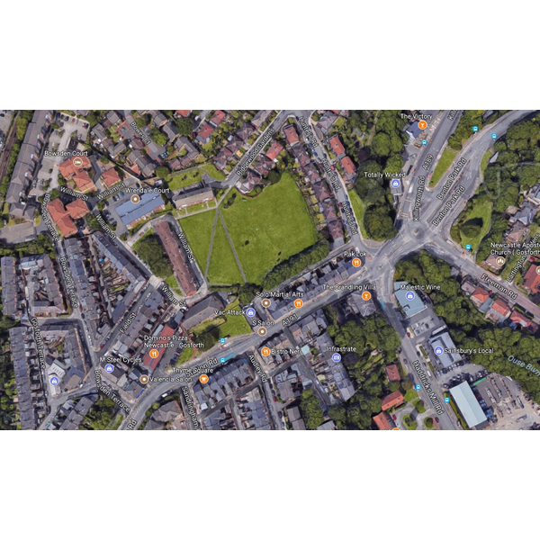 South Gosforth Green Location