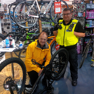 Cycle marking