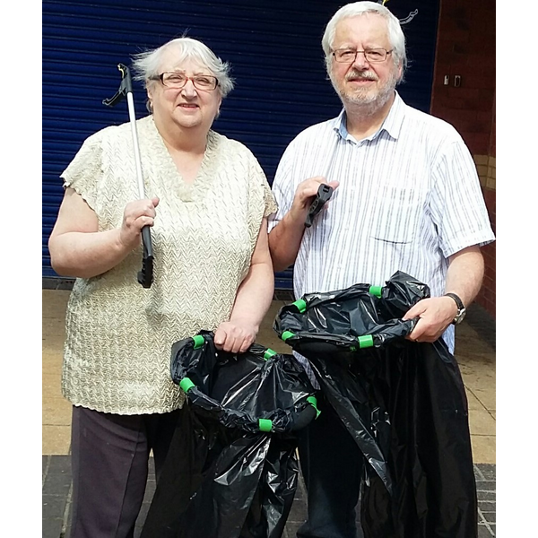 Fawdon litter pick