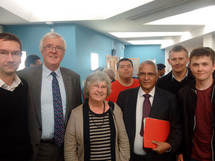 Lord Dholakia at Northumbria University