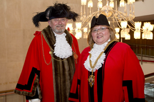 Lord Mayor and Lady Mayoress of Newcastle 2015-16