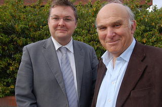 Vince Cable, Greg Stone