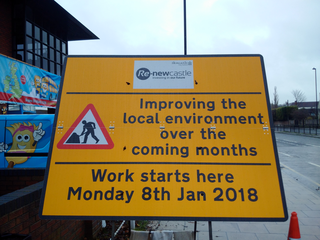 Great North Rd - roadworks