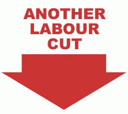 Another Labour cut.