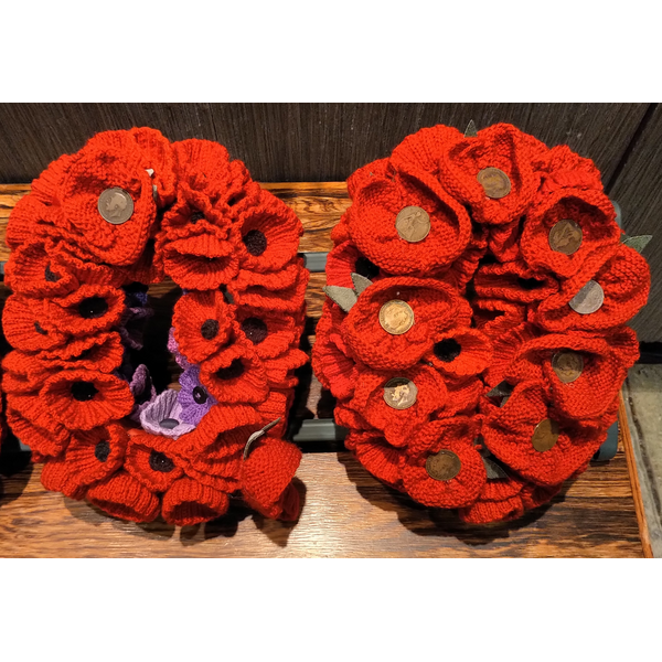 Woollen poppies