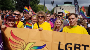 Lib Dems at Pride