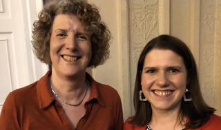 Cllr Wendy Taylor and Jo Swinson