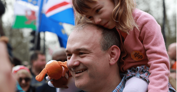 Ed Davey at march